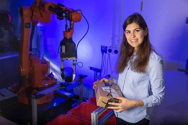 Image of MIT Student Wants to Improve How Robots Interact with the World